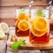 طريقة تحضير شاي مثلج بالليمون