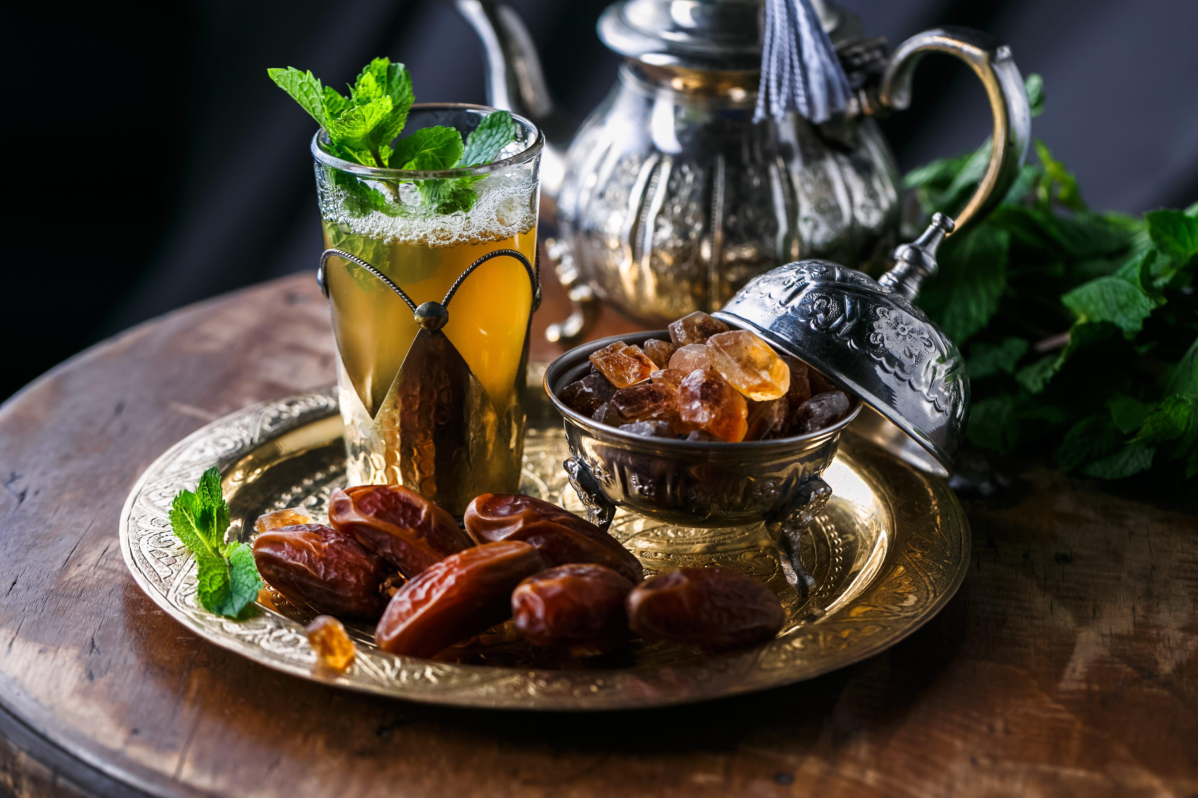 طريقة تحضير شاي مغربي