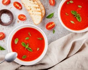 طريقة تحضير شوربة الطماطم للريجيم