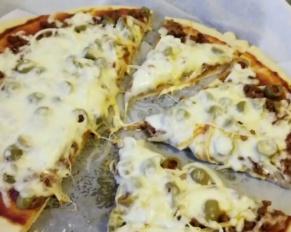 طريقة تحضير عجينة البيتزا بالشوفان