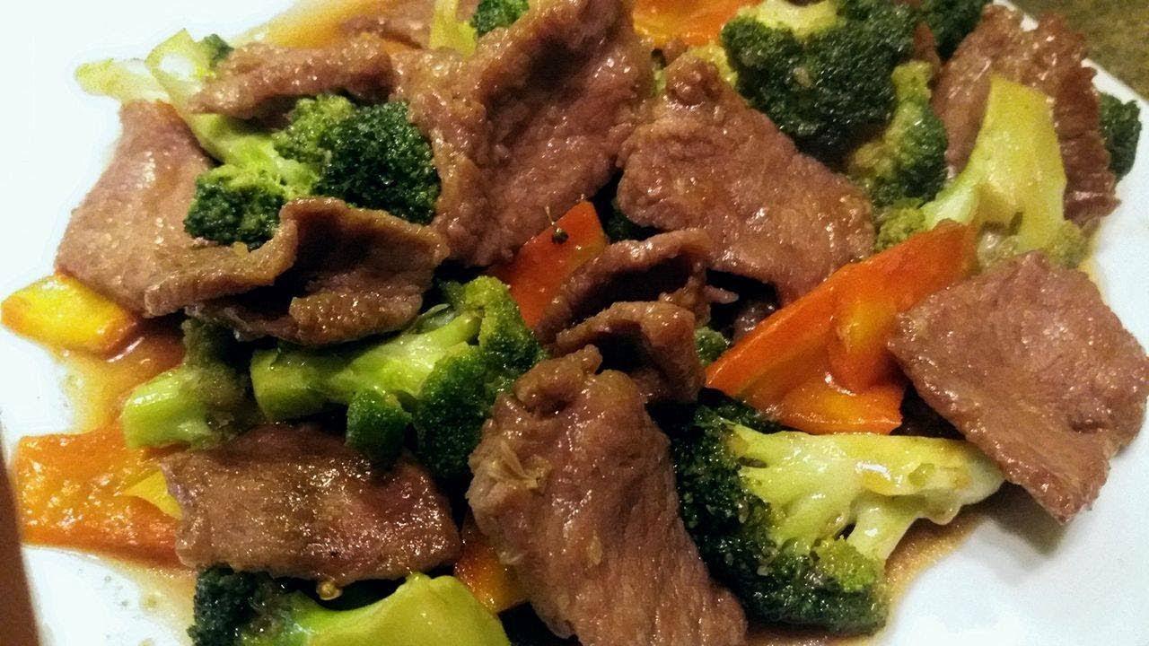 طريقة تحضيرشرائح اللحم مع البروكولي لرجيم مثالي