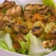 طريقة تحضيرسلطة دجاج مع الحمّص والخضراوات لرجيم مثالي