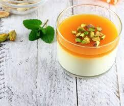 طريقة تحضير مهلبية البرتقال