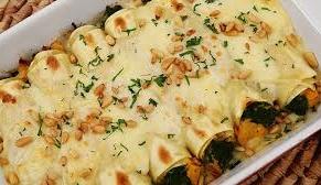 طريقة تحضير باستا الكانيلوني مع السبانخ وجبن الريكوتا الإيطالية